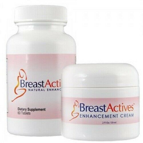 Breast Actives All Natural Breast Enhancement Supplement Capsules