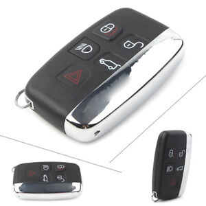 Replacement Remote Key Shell Case Fob 5Button for Land Rover LR2 LR4 Range Rover