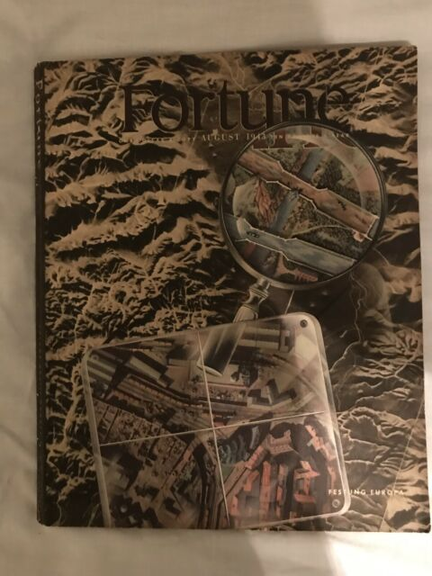 Fortune Magazine August 1943 in very good condition