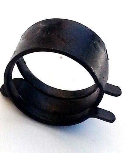 """Cadillac 3//4/"""" .75 Gas Hose Black Pinch Spring Clip Clamp Fuel Pump Sender NOS"""