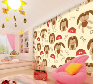 3D Anime Dog 4038 Wallpaper Murals Wall Print Wallpaper Mural AJ WALL UK Summer