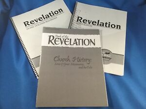 CURRENT-A-Beka-11-12th-Grd-BIBLE-BOOK-OF-THE-REVELATION-3-Book-Set-Quiz-Test-Key