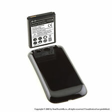 4300mAh Extended Battery for Samsung Galaxy S3 Black Cover