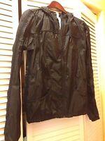 >>gorgeous<< Lululemon Transparent-see Jacket, Size 6, Black - Hot
