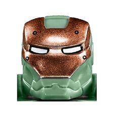 LEGO - Minifig, Helmet w/ Visor Copper Face Shield & White Eyes (Scuba Iron man)