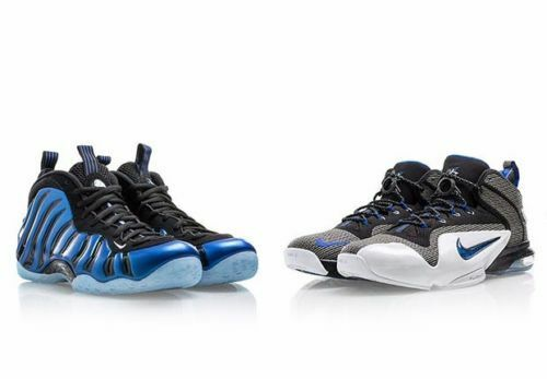 Nike Penny Pack QS Foamposite One Sharpie Pack Royal bluee Black Sz 11 800180 001