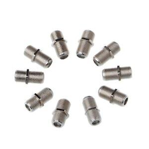 10pcs-Aluminium-Alloy-Connector-F-Plug-Coupler-Adapter-4-Sky-HD-TV-Coax-Cable