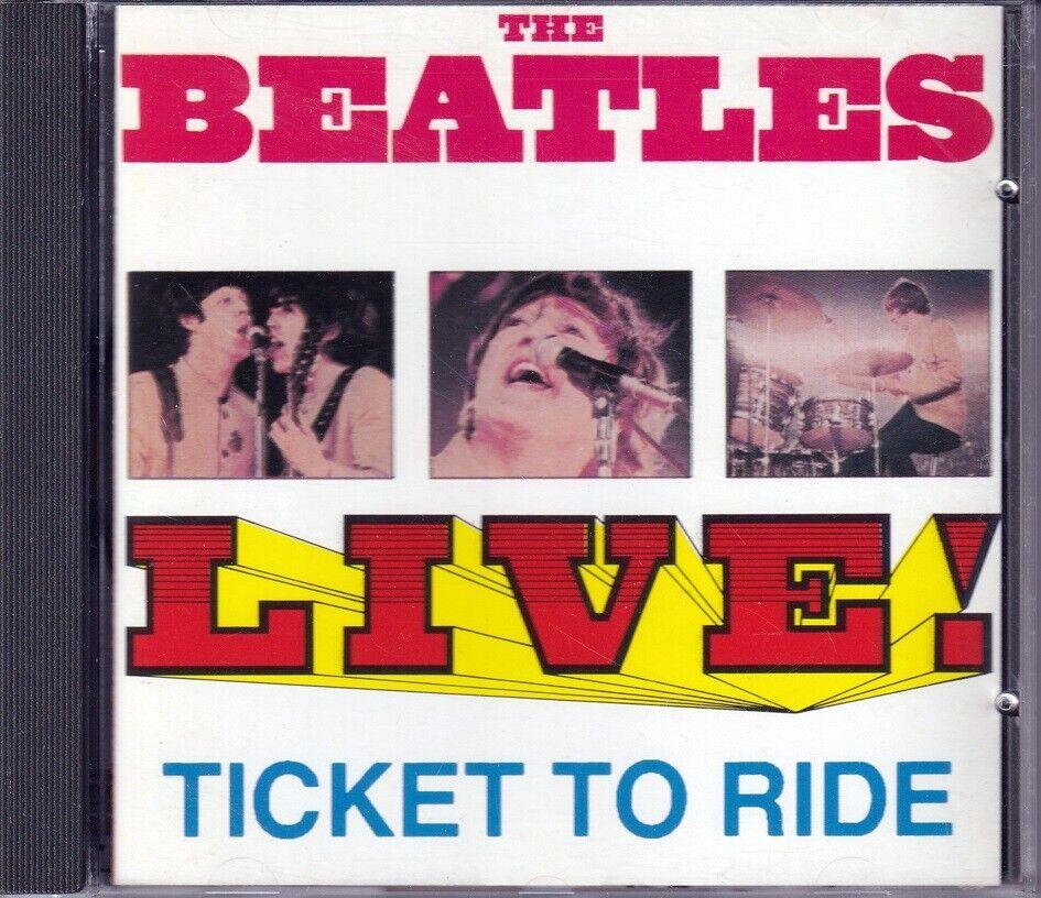 Beatles: Live, Ticket To Ride, pop