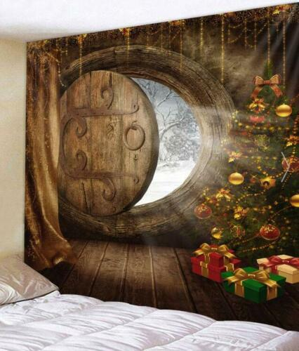 Christmas Decoration Tapestry Wall Hanging Bedroom Home /& Living Room Art Decor