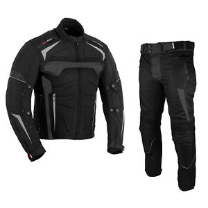 Motorbike-Textile-Suit-Motorcycle-Waterproof-Armoured-Jacket-Trouser-For-Winter