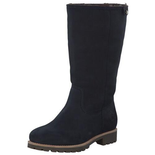 Panama Jack Bambina Igloo B11 Damen Stiefel Winterstiefel Boots Blau Marine Neu