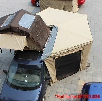ANTENERGY 2.5M BATWING Skywing AWNING ANNEX KIT ROOF TOP TENT CAMPER 4WD CAMPING