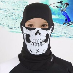 Children Balaclava For Boys Kids Size Winter Face Full Mask Hood NWT Camping Ski