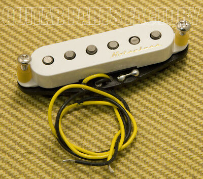 WHITE 005-8019-000 NEW Fender Noiseless Bridge Pickup For Strat