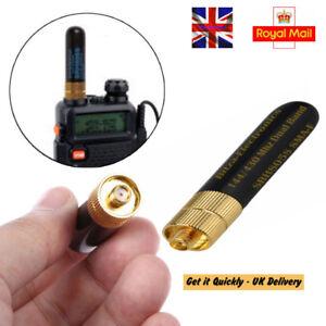 10W-SRH805S-SMA-F-FemaleTri-Band-Antenna-Baofeng-GT-3-UV-5R-BF-888s-UK-Seller