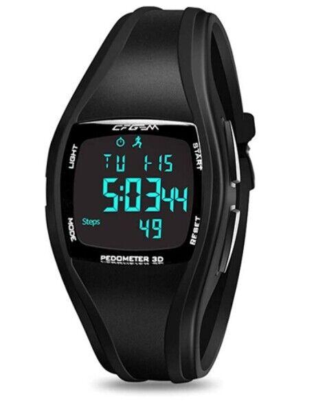 ⭐⭐⭐⭐⭐ESPAÑA ENVIOS- Reloj de Pulsera Depotivo Digital Hombre Mujer Podómetro