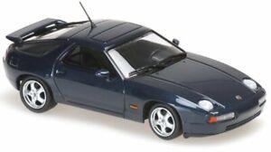 PORSCHE 928 GTS - 1991 - greenmetallic - Maxichamps 1:43