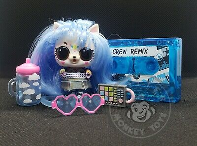 *BRAND NEW* BUILD A BOOMBOX WITH DOLL LOL Surprise CREW Remix pet SOLO SKUNK