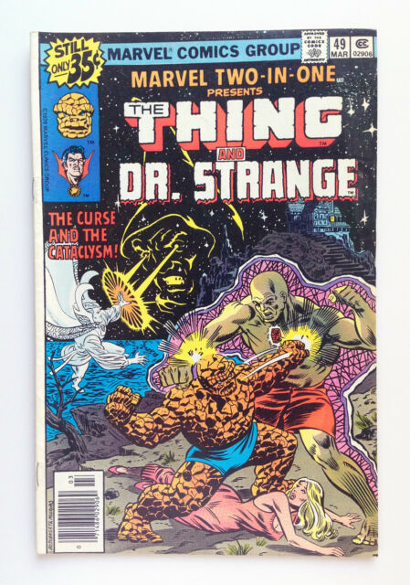Marvel Two-In-One #49 (Mar 1979, Marvel) — The Thing and Dr. Strange