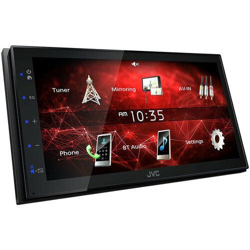 """JVC KW-M150BT 6.8"""" In-Dash Car Monitor Digital Media Bluetooth Receiver USB/MP3"""