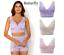 Rhonda-Shear-Pin-Up-Lace-Overlay-Bra-3-pack-HSN-567051 thumbnail 6