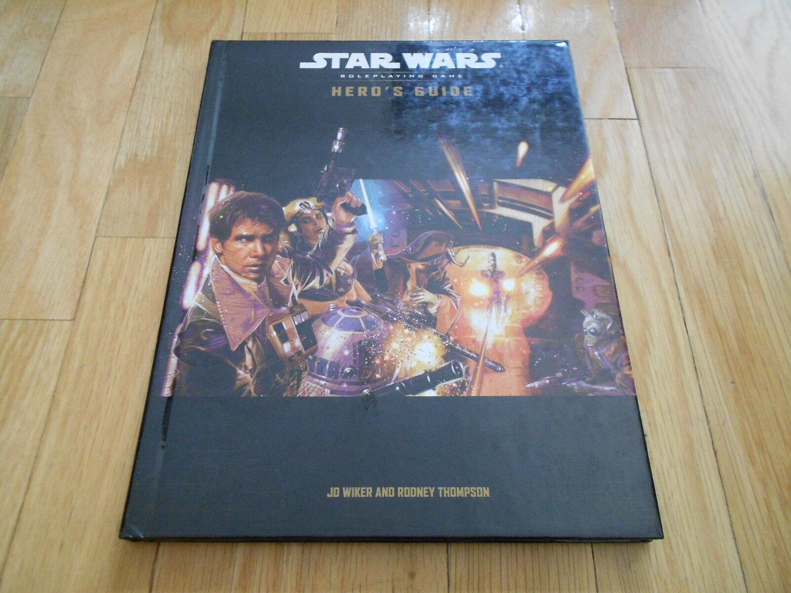 star wars  - helden ´ s guide - el rol - 176670000 - rpg d20 wotc