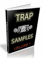 TRAP SAMPLE COLLECTION -  WAV FILES -  2X DVD'S -  LOOPS + SINGLE SHOTS -  7.8GB