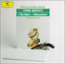 """Mozart: String Quartets """"The Hunt"""", """"Dissonance"""" 1990 by Wolfgang Ama -ExLibrary"""