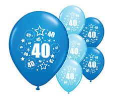 "10 x quarantesimo anniversario Blu Mix 12 ""ELIO o Airfill numeri di riferimento (Pa)"