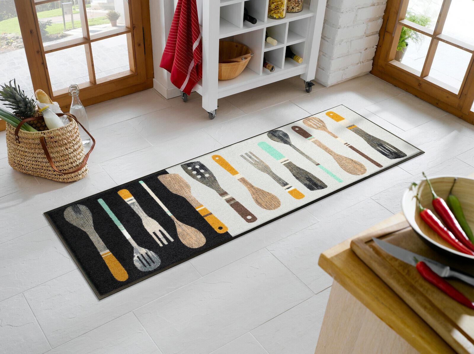 Fußmatte wash+dry Cooking Tools Tools Tools ca.60x180cm waschbar Matte Kleen Tex e3b3c4