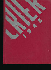 Youngstown OH Boardman High School yearbook 1942 Ohio