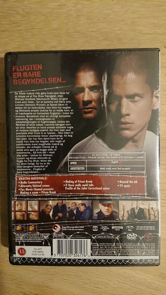 Prison Break, DVD, action