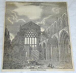1832-Revista-Grabado-Interior-de-Holyrood-Chapel-Escocia