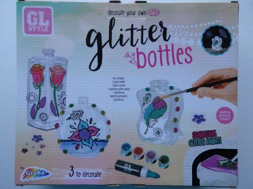 Decorar Su Propio botellas de brillo o botella arte con arena
