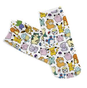 1paire-Pokemon-Squirtle-Chaussettes-cheville-Chaussettes-courtes-Pour-Femmes