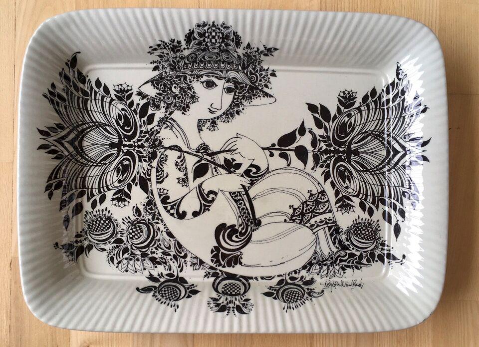 Porcelæn, Fad , Bjørn Wiinblad