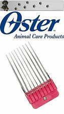 OSTER MOSER MAX 45 - WAHL - ANDIS - AESCULAP ROSTFREIER STAHL AUFSTECKKAMM 50 MM