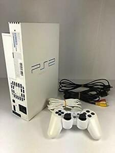 PS2-PEARL-WHITE-Console-System-SCPH-50000-Tested-Playstation2-Free-Ship-From-JP