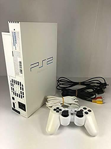 PS2 PEARL WHITE Console System SCPH-50000 Tested Playstation2 Free Ship From JP