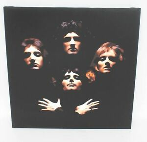 Queen-Bohemian-Rhapsody-Canvas-61x61cm-Wall-Hanging-Framed-Art-Picture-Print-NEW