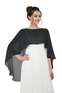 ad8b6c589dc Image is loading Shawls-and-Wraps-for-Evening-Dresses-Chiffon-Wedding-