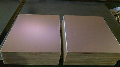 "6 pcs.  2 1/2"" x 8"" CEM, .060. 1 oz. Single Sided. Copper Clad Circuit Board PCB"