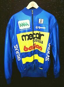 Biemme-1993-ALBERTO-VOLPI-MAGLIA-CICLISTA-MECAIR-BALLAN-MAA-ASS-TG-XL-ITALY
