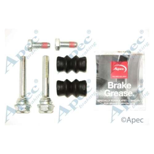 FITS FORD S-MAX 2.0 TDCi GENUINE OE QUALITY APEC étrier De Frein Guide Sleeve Kit