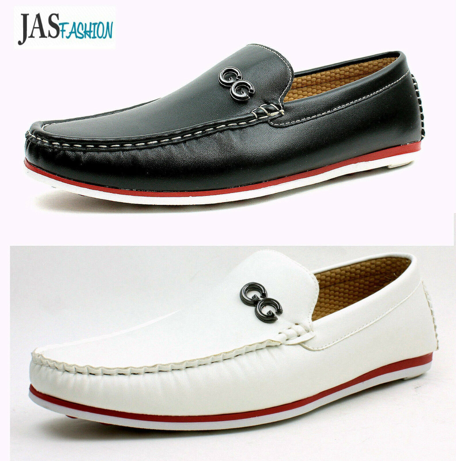 Mens Moccasin Type Boat Shoes