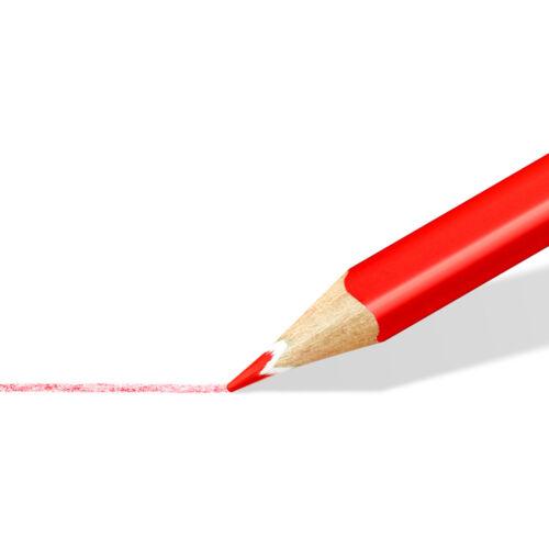 Pack of 12 White Staedtler Ergosoft Colouring Pencil