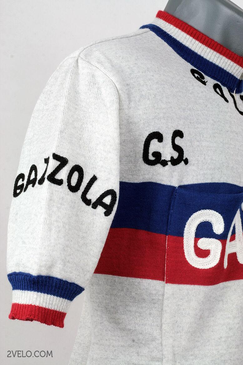 GAZZOLA vintage wool jersey, new, new, new, never worn L 87baa5