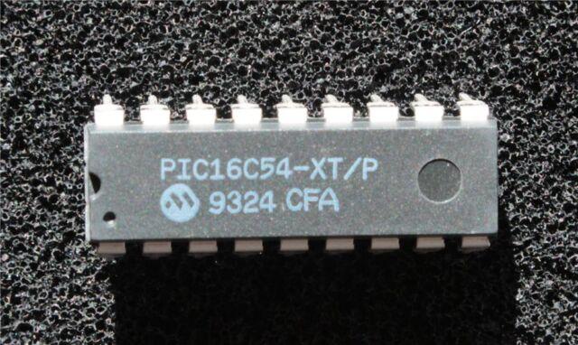PIC16C54-XT/P 8-Bit EPROM/ROM-Based CMOS Microcontroller