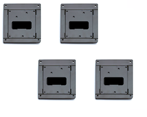 4 VESAMOUNTS 75MM//100MM TFT LCD WALL COMPUTER SCREEN MONITOR VESA MOUNT