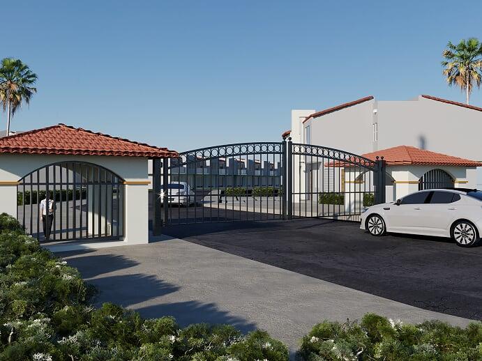 Casas en venta modelo Bel-Air con espectacular vista al mar en Tijuana B.C.